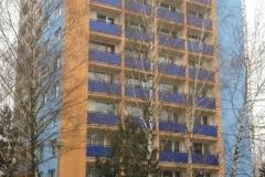 Zateplenie fasády ,rekonštrukcia balkónov Bánovce nad Bebravou Svätoplukova 1154 r. 2014